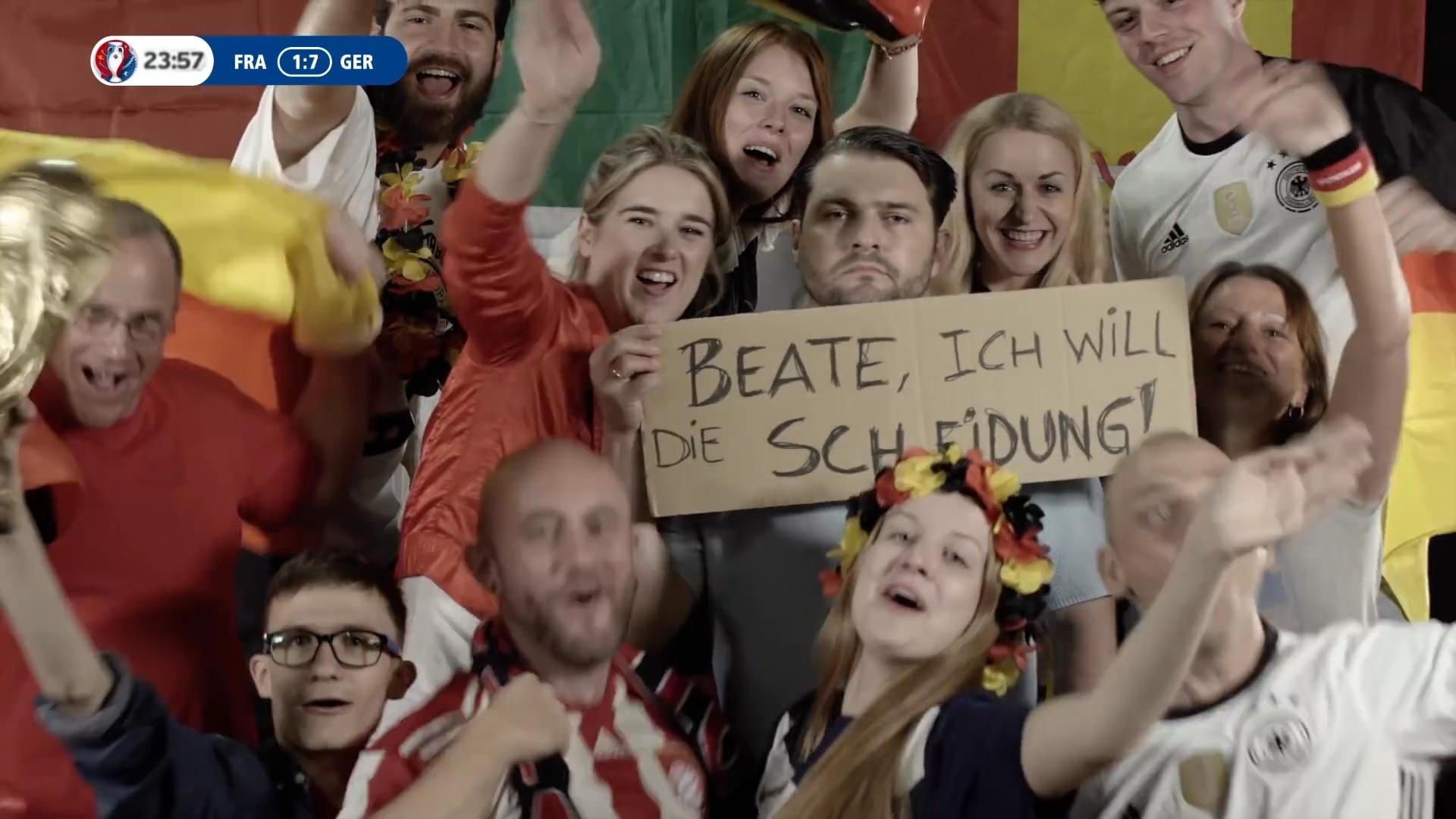 Die 10 besten Reaktionen vor der Stadion-Kamera